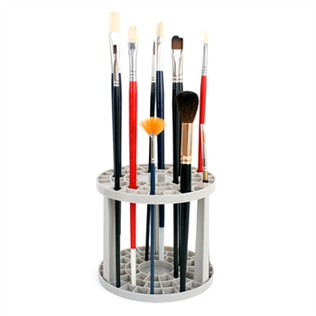 round paint brush stand