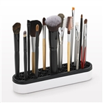 Silicone Black & White Brush Stand
