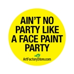 Blurt Button, Funny buttons for face painters and balloon artists.