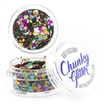 Unicorn Pop  Chunky loose glitter made using cosmetic grade chunky glitters.