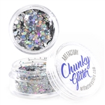 Starstruck Chunky loose glitter made using cosmetic grade chunky glitters.