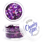 Fierce Chunky loose glitter made using cosmetic grade chunky glitters.