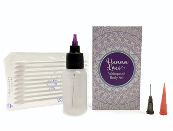 Cleaning Henna Lace kit