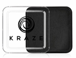 Kraze Black Wax-based, highly pigmented, water activated makeup for face and body painting.