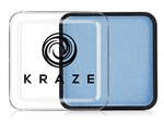 Kraze Light Blue Wax-based, highly pigmented, water activated makeup for face and body painting.