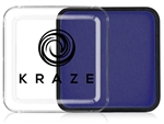 Kraze Royal Blue Wax-based, highly pigmented, water activated makeup for face and body painting.