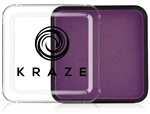 Kraze Violet Wax-based, highly pigmented, water activated makeup for face and body painting.