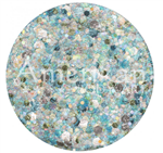 Pisces Chunky Glitter Cream By Amerikan Body Art