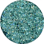 Teal Glitter Cream By Amerikan Body Art