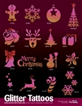 CHRISTMAS CHEER - 80 Stencils + Display