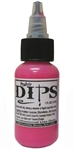 Hot Pink Dips 1 oz bottle of waterproof liquid face paints bu ProAiir
