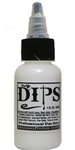 White Dips 1 oz bottle of waterproof liquid face paints bu ProAiir