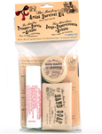 The Masters Artist Survival Mini Clean Up Kit with Brush Cleaner, Artist Soap and Kiss-off Stain Remover