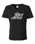 Face Artist Tshirts, glittery shirts, shimmer