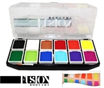 Fusion Spectrum Sampler Face Painting Palette face paint, face painting