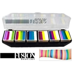 Fusion Spectrum Colour Punch by Jest Paint palette face paint, face painting