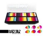 Fusion Petal Palette -  Leanne's Vivid Rainbow for face painting