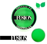 Fusion UV Neon Green 32gr face paint, face painting