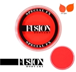 Fusion UV Neon Orange 32gr face paint, face painting