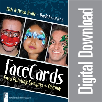 FaceCards - Nick & Brian Wolfe - Park Favorites - Digital Download