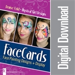 FaceCards - Denise Cold - Mystical Girl Designs Digital Download
