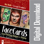 FaceCards - Nick Wolfe Creepy Creatures - Digital Download