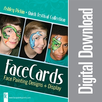 FaceCards - Ashley Pickin - Quick Festivals - Digital Download