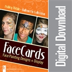 FaceCards - Ashley Pickin - Halloween - Digital Download
