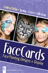 Ashley Pickin Easter & Spring Face Cards for Face Painting