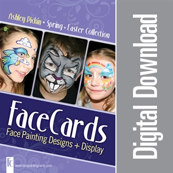 FaceCards - Ashley Pickin - Easter / Spring - Digital Download