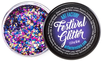 Fiesta Festival glitter made using cosmetic grade chunky glitters.