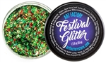 Santa Baby Green Festival Glitter for the holidays