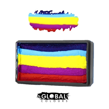 Global One stroke face paint, One stroke painting