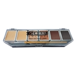 Global makeup,  6 Color Skin Tone face paint Palette, face paint palette, small palette
