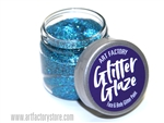 Blue Glitter Glaze Face & Body Paint in one oz jar