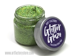 Green Glitter Glaze Face & Body Paint in one oz jar