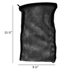 Mesh Zipper Bag for Face Paint Sponges