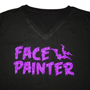 Halloween Face Painter Tshirt, Halloween Tshirt, Glitter Halloween Tshirt, Halloween T-shirt, Halloween Face Painter T-Shirt, Glitter Halloween T-shirt, Face Painter shirt, Face Painter T-shirt