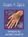 Sugar and spice henna pattern book by jamilah