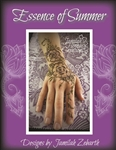 Essence of Summer Henna pattern book by Jamilah Zebarth