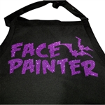 Face Painter Halloween Apron