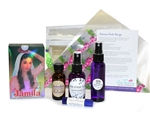 professional henna kit with lavender