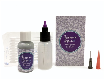 Silver Henna Lace in 1/2oz bottle
