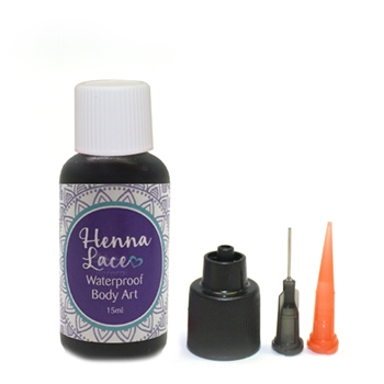 Black Henna Lace in 1/2oz bottle