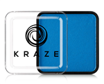 Kraze Neon Blue Wax-based, highly pigmented, water activated makeup for face and body painting.