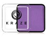 Kraze Neon Purple Wax-based, highly pigmented, water activated makeup for face and body painting.