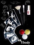 Glitter Tattoo Kit, Glimmer tattoo, Teaser Kit