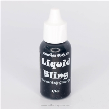 Glitter gel for face painting, add glitter to your face design with this sparkly product!