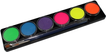 TAG Neon Face Paint Palette