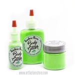 uv reactive Neon Green Glitter for glitter tattoos and body painting